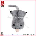 la fábrica de china suave juguetesparamascotas venta al por mayor mangosta sin relleno sin relleno sin relleno de la felpa animales de juguete para perros