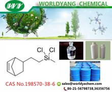 Worldyang organic silicon 5-[2-(Dichloromethylsilyl)Ethyl]-Bicyclo[2.2.1]Hept-2-Ene CAS No 198570-38-6