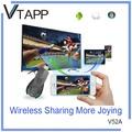 vtapp caliente venta de nuevo producto v52a wireless display manipulación manual de cargas de cable de extensión