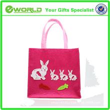 Wholesale Vintage Pink Bunny Easter Bag
