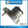 DS-48OS520 24v electric motor high rpm 11000rpm with flat ovoid gearbox