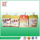 Special Shape Stand-up Pouch Spout For Soybean Milk