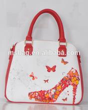vivid digital print fashion lady bag
