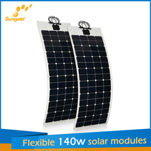 sungold flexible solar panel kit for boats