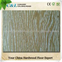 oak engineered flooring with white brushed surface