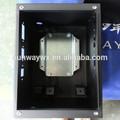 el panel de metal caja de control eléctrico del medidor de energía caja de distribución