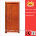 Usine meilleures ventes en bois motif décoratif porte intérieure