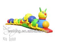 caterpillar inflatable bounce
