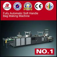 PLC control Plastic Handle Bag Forming Machines,PE Soft Handle Loop Bag Making Machine, pe film blowing machine
