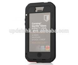 Water/Drop/Shockproof Metal Skin Aluminum Waterproof Case for iPhone 5