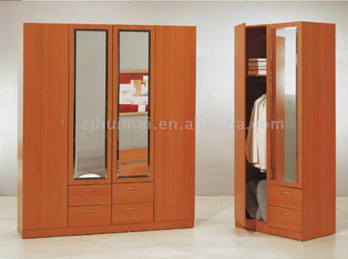 Wood Wardrobe Closet