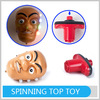 Hot Selling Cute Cartoon Super Spinning Toy Flash Tops for Kids
