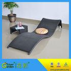 Garden fiberglass cheap resin wicker pool outdoor rattan swimming pool chair