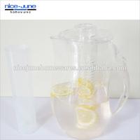 2014 New style BPA Free plastic Fruit Infusion Jug