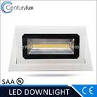 Modern low price Bridgelux recessed led downlighting square dimmable SAA TUV CE UL