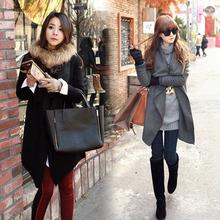 de invierno coreano manto suelto del cabo outwear alas de murciélago de lana de las señoras poncho sv005913 venta al por mayor