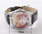 Gets.com leather radium watch dial