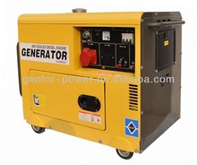 Favorites Compare 5kw Diesel Generator 186FA 100% copper winding electric start with battery air cooled three phase