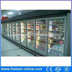 Glass door noiseless absorption refrigerator/commercial refrigerator