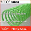 plastic spiral rings,plastic spiral ring,plastic binding spiral