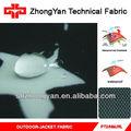 tecido de poliéster impermeável e respirável jaqueta de tecido