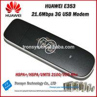 Brand New Original Unlock HSPA+ 21.6Mbps Huawei E353 Driver HSDPA USB Modem Support 900/2100MHz