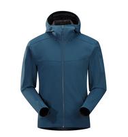 Custom breathable waterproof soft shell jacket