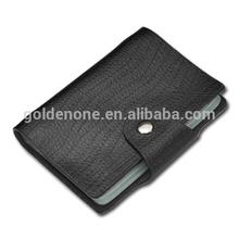 Customized Blank PU Leather Credit Card Case