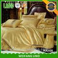 الجاكار الفاخرة الفراش الحرير ورقة/ duvt تغطية الشعور الحرير/ ملاءة سرير رخيصة