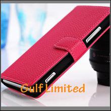 Multifunctional flip leather case for nokia lumia 925 flip cover