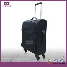 2014 popular ultra lightweight nylon fabric travel luggage