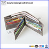 Multifunction High Quality RFID wallet leather outside pocket