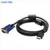 High definition laptop lcd to vga converter to hdmi cable 1080p