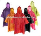 Plastic PVC Rain Coat Waterproof Poncho