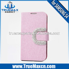 New flip leather case cover for samsung galaxy s4