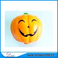 Halloween Gift Pumpkin Shape PU Ball, PU Foam Stress Ball