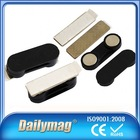 High Quality Plastic Magnetic Reusable Name Badg Made In China On Time Delivery