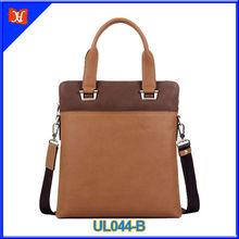 2014 Fashion leisure genuine leather shoulder strap bag men