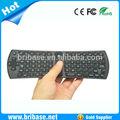 Mini usb 2.4 GHz palmare tastiera senza fili arabo tastiera con aria del mouse