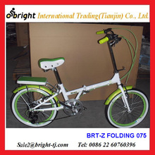 folding bicycle with rear cushion rack /carrier from China