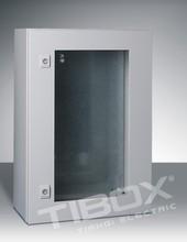 Plexiglass door wall mount enclosure/sheet steel/waterproof/dustproof