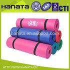 custom printed silkscreen logo big size extra thick 20mm nbr rubber mat yoga mattress