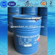 Manufacturer Powder Sodium Hydrosulfite 90% Price