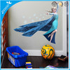 Removable wall decal room decor kids 3d frozen princess wall stickers kids room