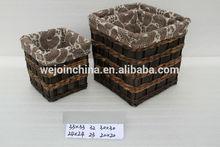 Bathroom wire basket