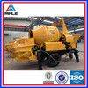 2014 hot concrete machine Small Mobile concrete mixer pump with electric motor