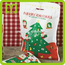China Yiwu printed decorative luxury christmas shopping bag