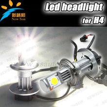 Most Popular Universal Car Truck H4 1800lm 50w C ree Hi/Lo Beam Led Headlight Head Lamp For Hyundai Accent