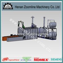 pitch melting equipment for asphalt mixing plant