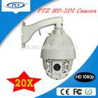 Hot! 1080P Enhanced IR rotating outdoor PTZ 20X High Speed Dome HD-SDI security Camera
